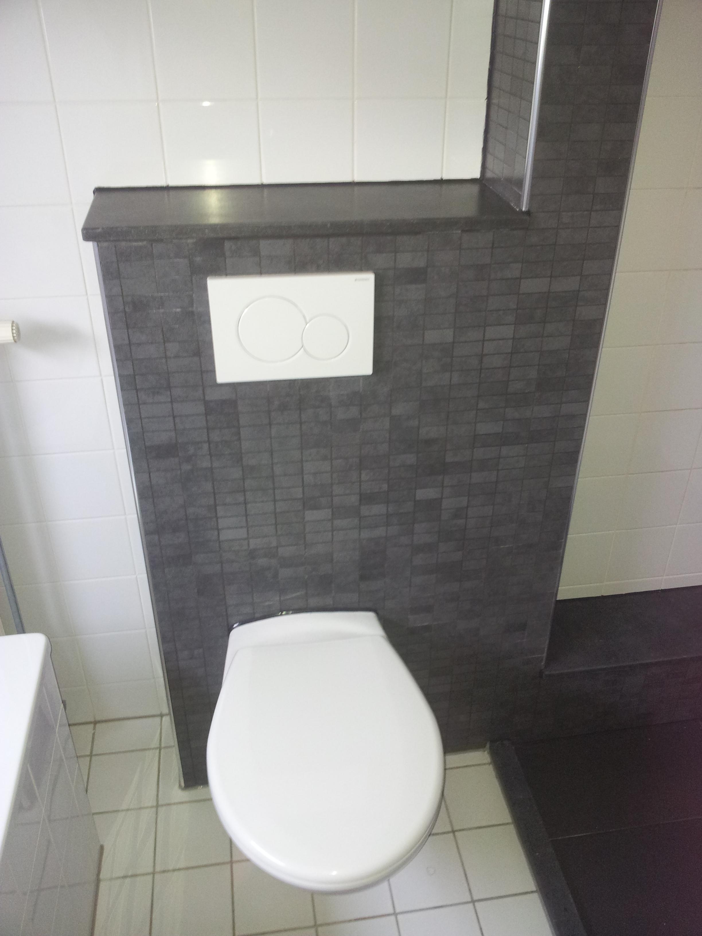 Vieze Geur In De Badkamer ~ Het maken van een nieuwe badkamer en nieuw toilet Klant wilde geen
