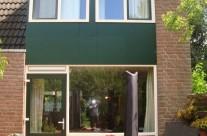 Plaatsen van kunststof achtergevel, kozijnen, deur en dakkapel Lunetten Utrecht