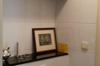 Badkamer en toilet in een appartement in Lunetten-Utrecht